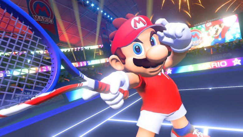 Mario tennis aces demo + tournoi en ligne JAP
