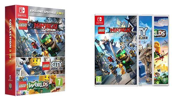 Lego un bundle avec 3 jeux nintendo switch nintendo - Jeux de lego sur jeux info ...