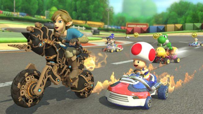 Nintendo avait promis d'autres mises à jour pour Mario Kart 8 Deluxe, voilà que Zelda: Breath of the Wild s'invite. Le jeu passe dès maintenant en version ...