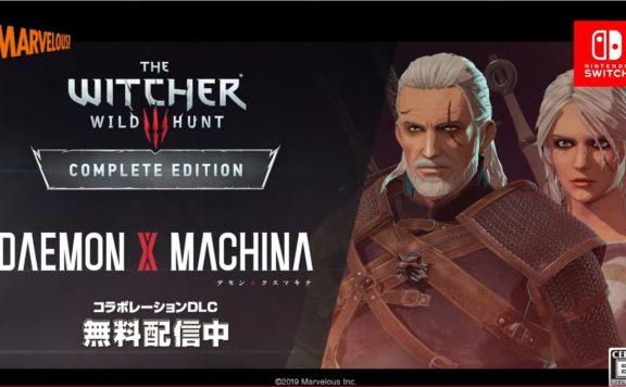Daemon X Machina et Witcher 3