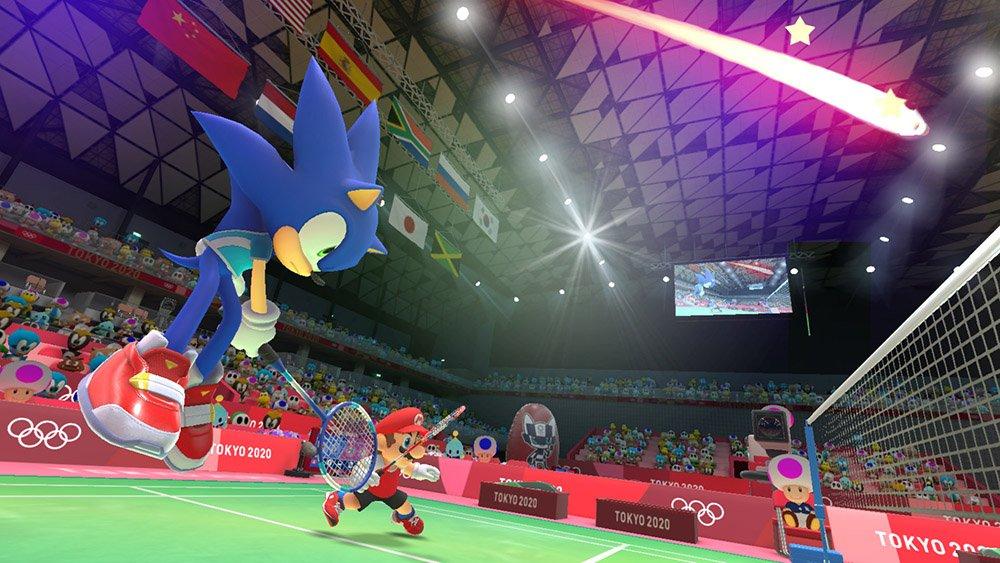 Nouvelle Vidéo Pour Mario Sonic Aux Jeux Olympiques De